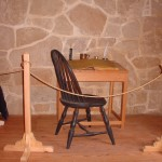 This is a 9 spindle Hoop Back Side chair I built for the Distillery at Mount Vernon