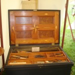 My personal Tool Box modeled after several 18th century tool boxes