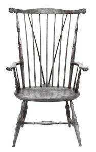 Windsor Chair Fan Back