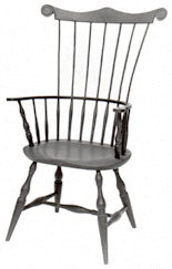 Windsor chair high back