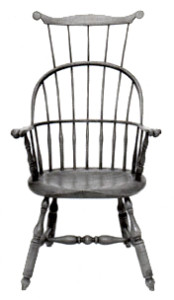 Windsor chair Triple back