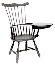 Windsor chair Writing Arm