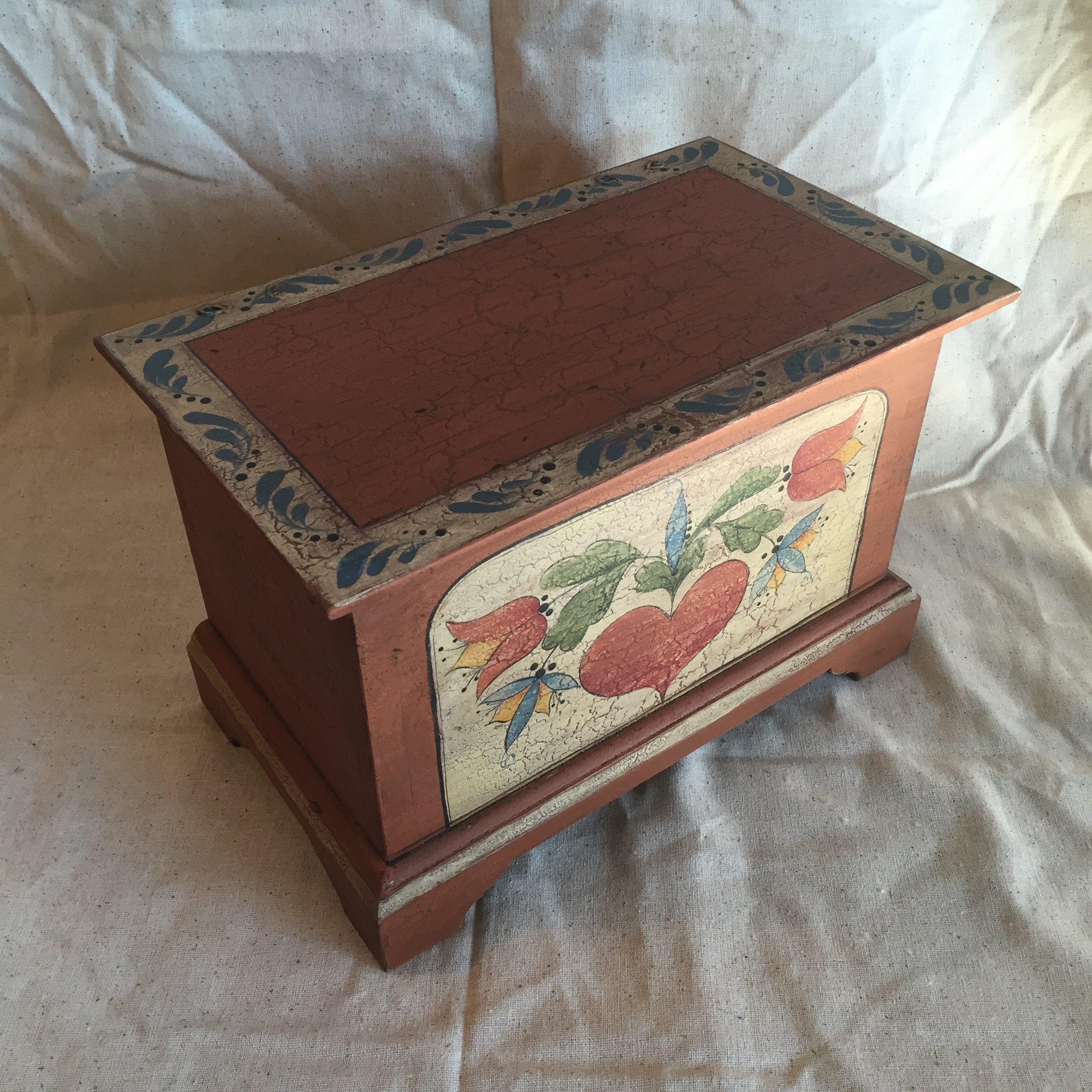 Pumpkin Keepsake Box