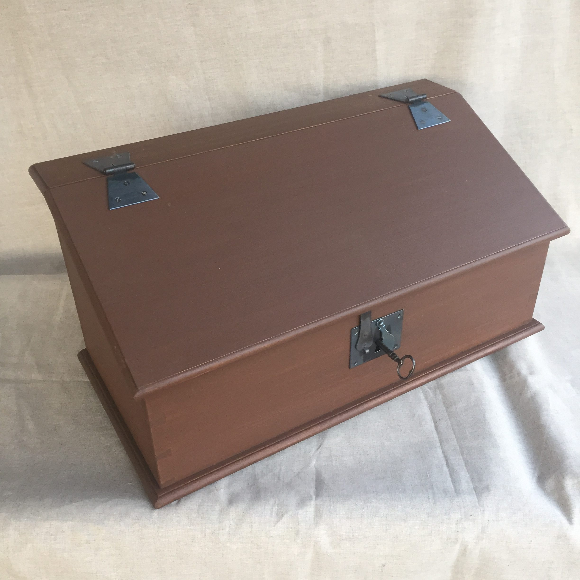 Brown Desk Box