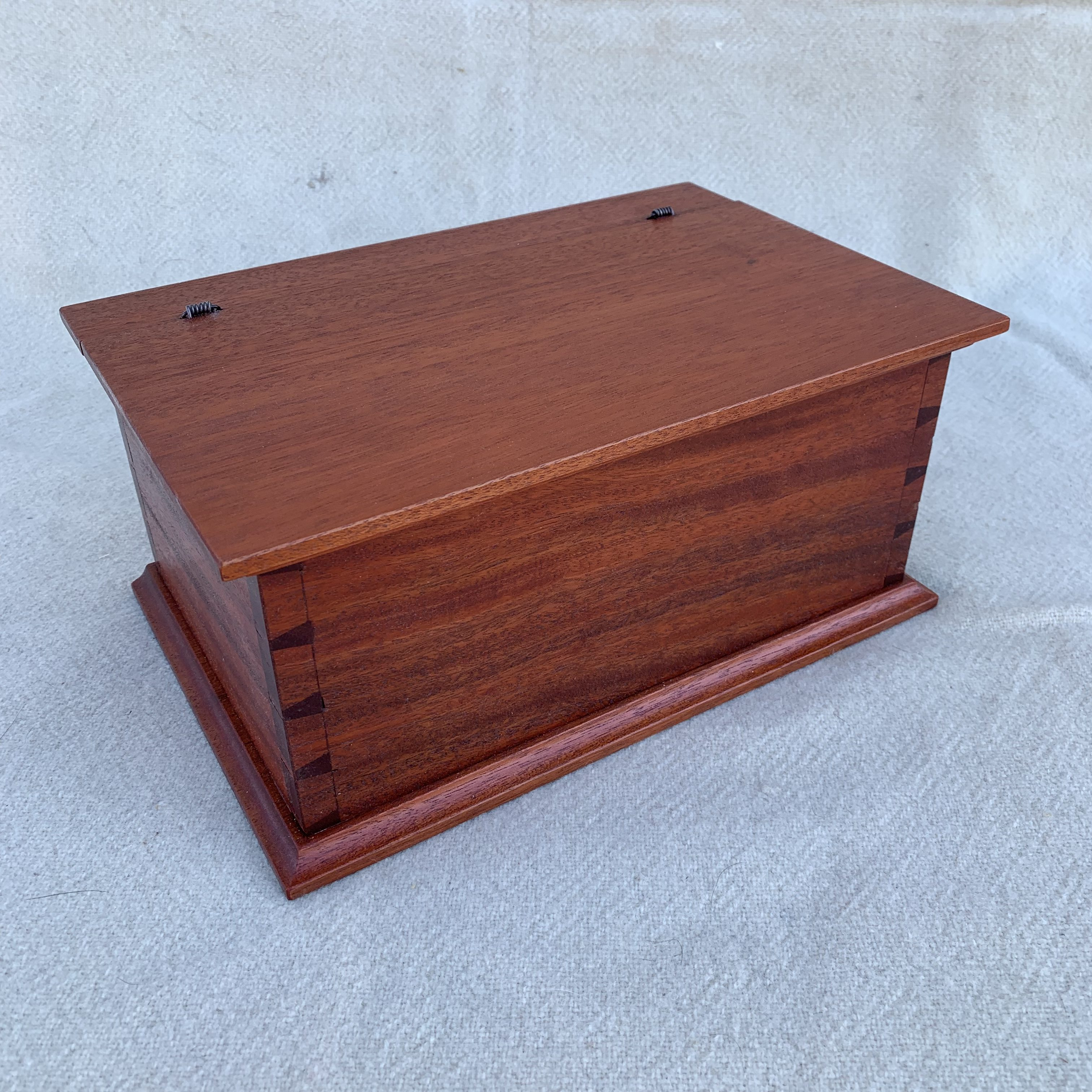 Mahogany table box