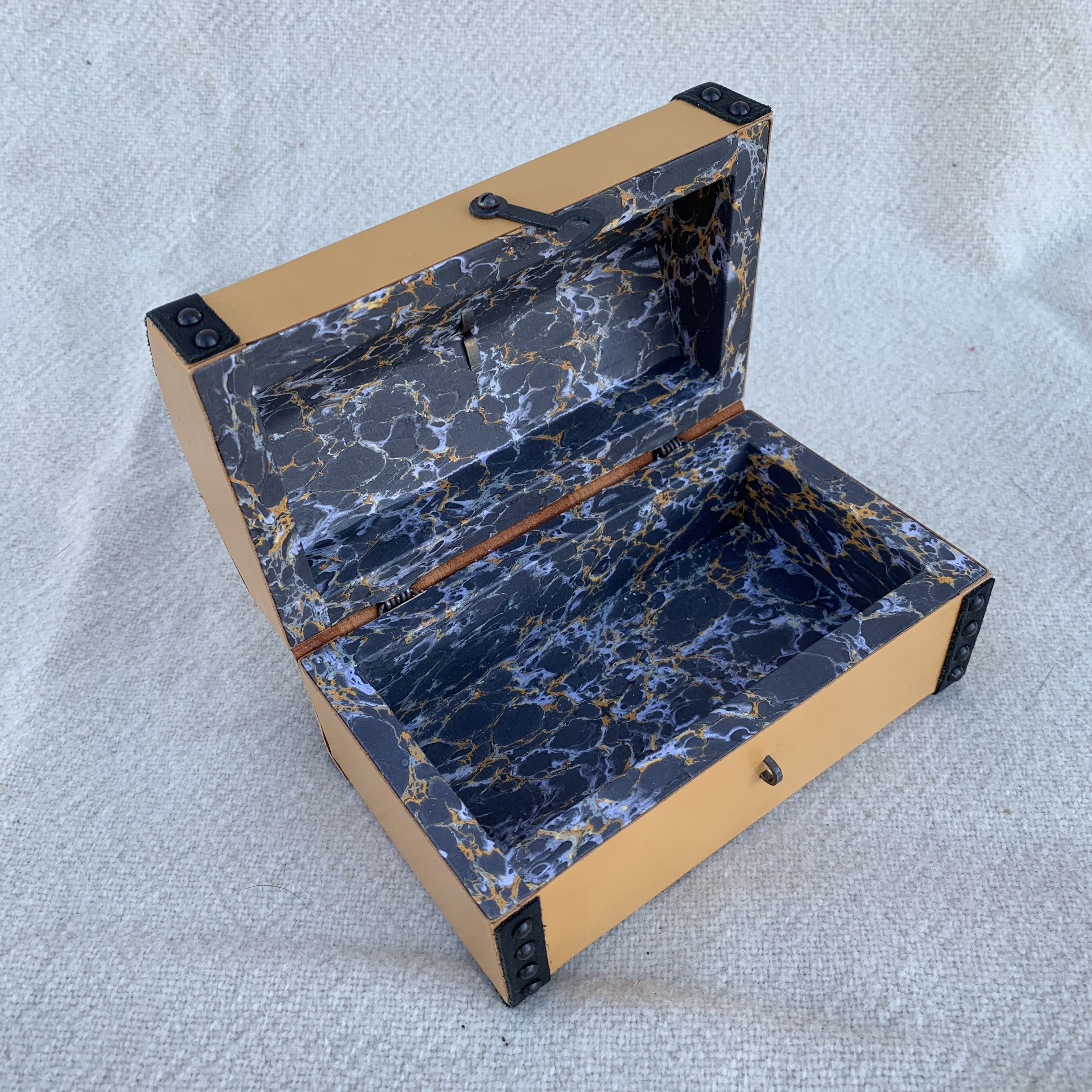 Hand crafted reproduction boxes